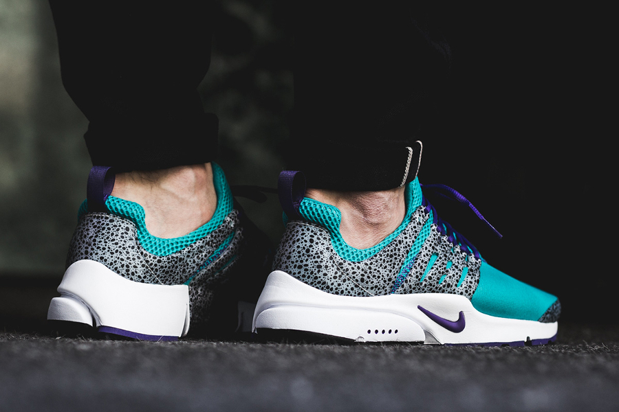 Chaussure Nike Air Presto QS Safari Turquoise Turbo Green (1)