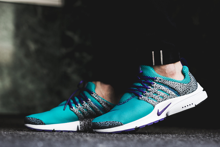 Chaussure Nike Air Presto QS Safari Turquoise Turbo Green (2)