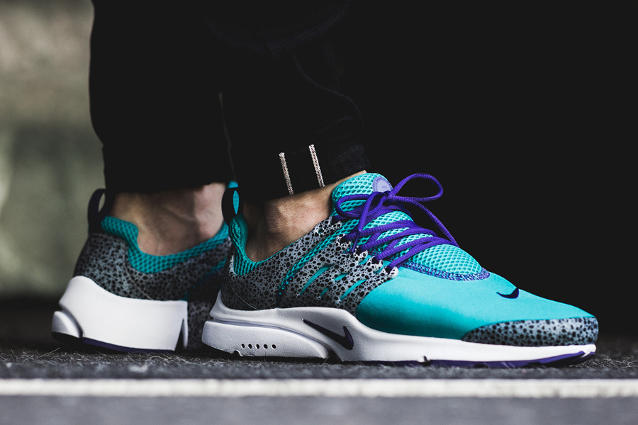 Chaussure Nike Air Presto QS Safari Turquoise Turbo Green