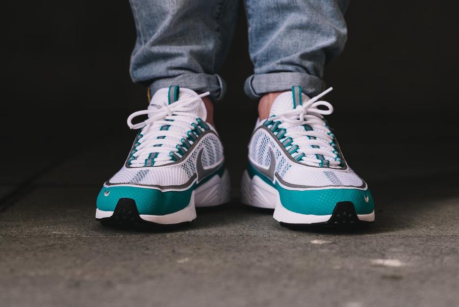 Chaussure Nike Air Zoom Spiridon Turbo Green Summer Pack (3)