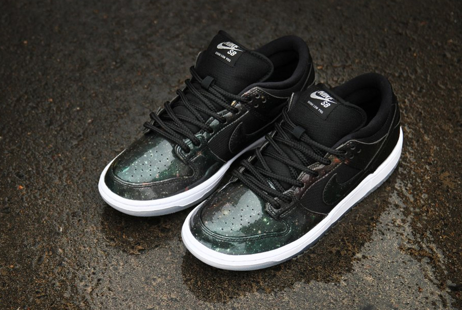 Chaussure Nike Dunk Low Pro SB 420 Galaxy Space Jah