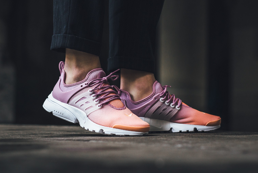 Chaussure Nike Wmns Air Presto Ultra BR Breathe Sunset Glow'(dégradé rose) femme (1)