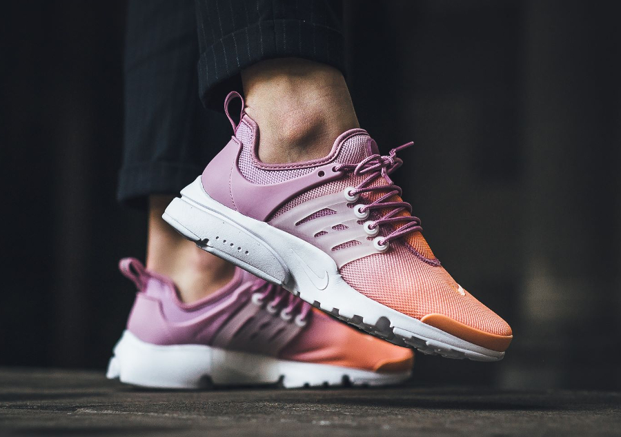 Chaussure Nike Wmns Air Presto Ultra BR Breathe Sunset Glow'(dégradé rose) femme (2)