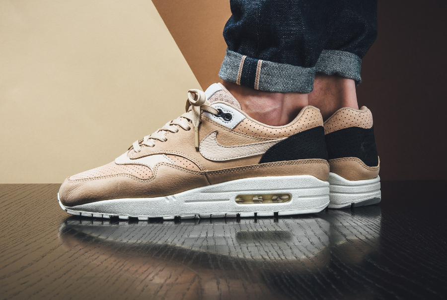 Chaussure NikeLab Air Max 1 Pinnacle Beige Mushroom (1)