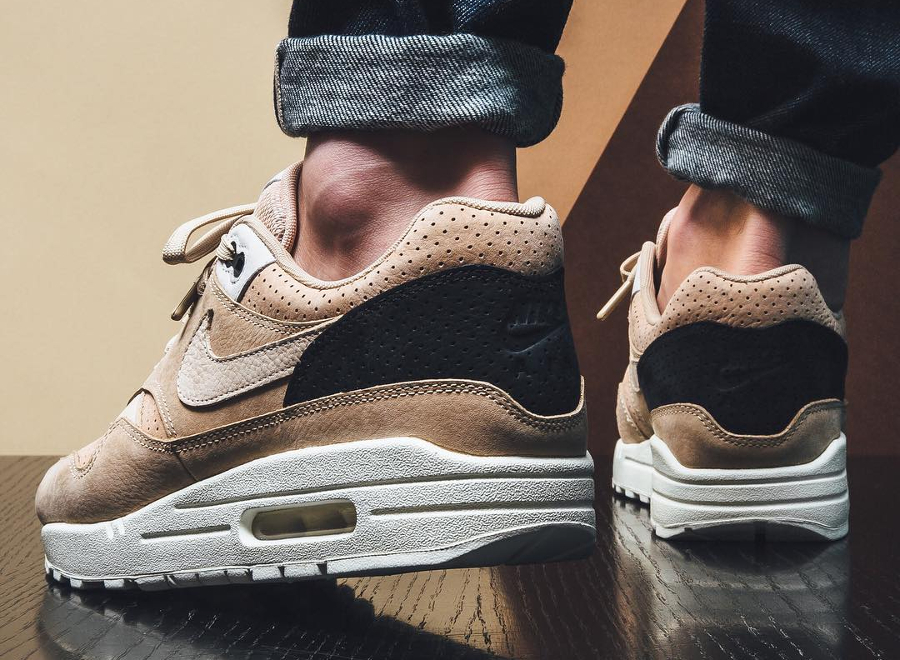 Chaussure NikeLab Air Max 1 Pinnacle Beige Mushroom (2)