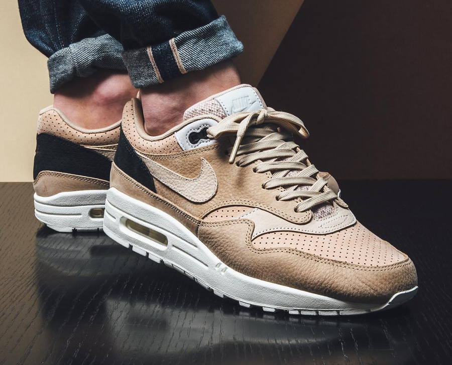 Chaussure NikeLab Air Max 1 Pinnacle Beige Mushroom (3)