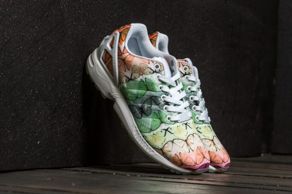 Chaussure The Farm Company x Adidas ZX Flux Butterfly Muticolor (femme)