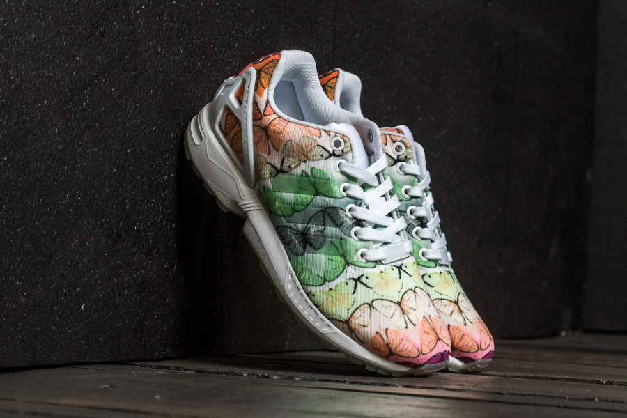 The Farm Company x Adidas ZX Flux 'Butterfly Muticolor'