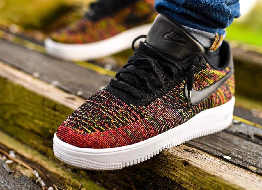 Nike Air Force 1 Low Flyknit SP Multicolor - @str8outtajersey3