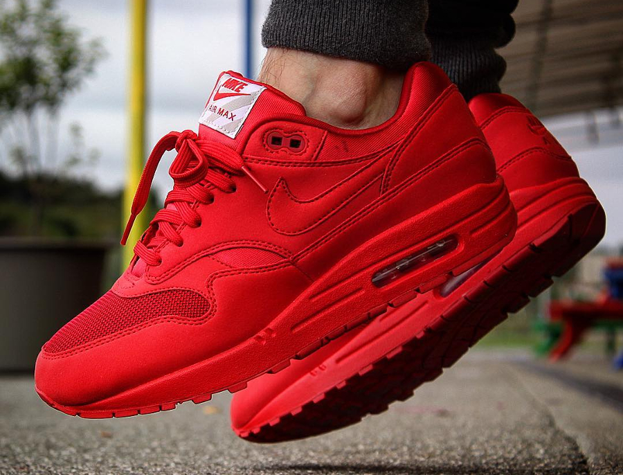 Nike Air Max 1 'Tonal Red' (#SDJ 21/04/2017)