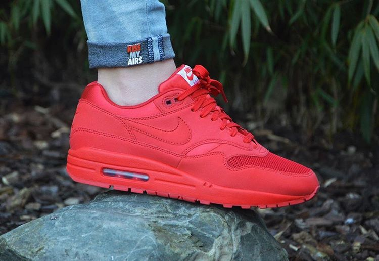 Nike Air Max 1 Tonal Red - @customsbybb