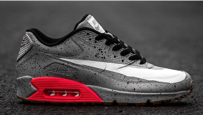 Nike Air Max 90 Infrared Cement (1) - @sneakaninjaz