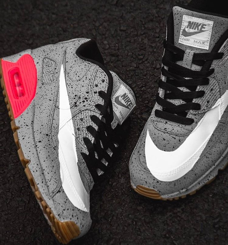 Nike Air Max 90 Infrared Cement - @pkzuniga (1)
