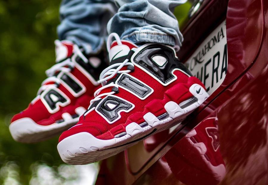 Nike Air More Uptempo Chicago Bulls - @all_my_kickz_dope
