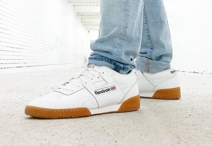 Reebok Workout Lo White Gum - @ravishingacs