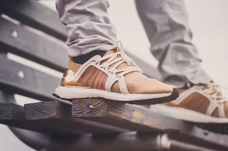 Stella McCartney x Adidas Ultra Boost X Gold - @1st_pair