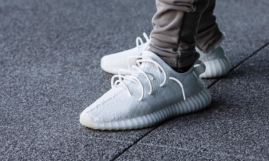 Adidas Yeezy 350 Boost V2 Blanche 'Triple White' 2018
