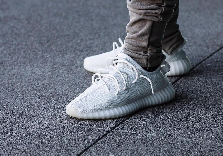 adidas yeezy boost blanc