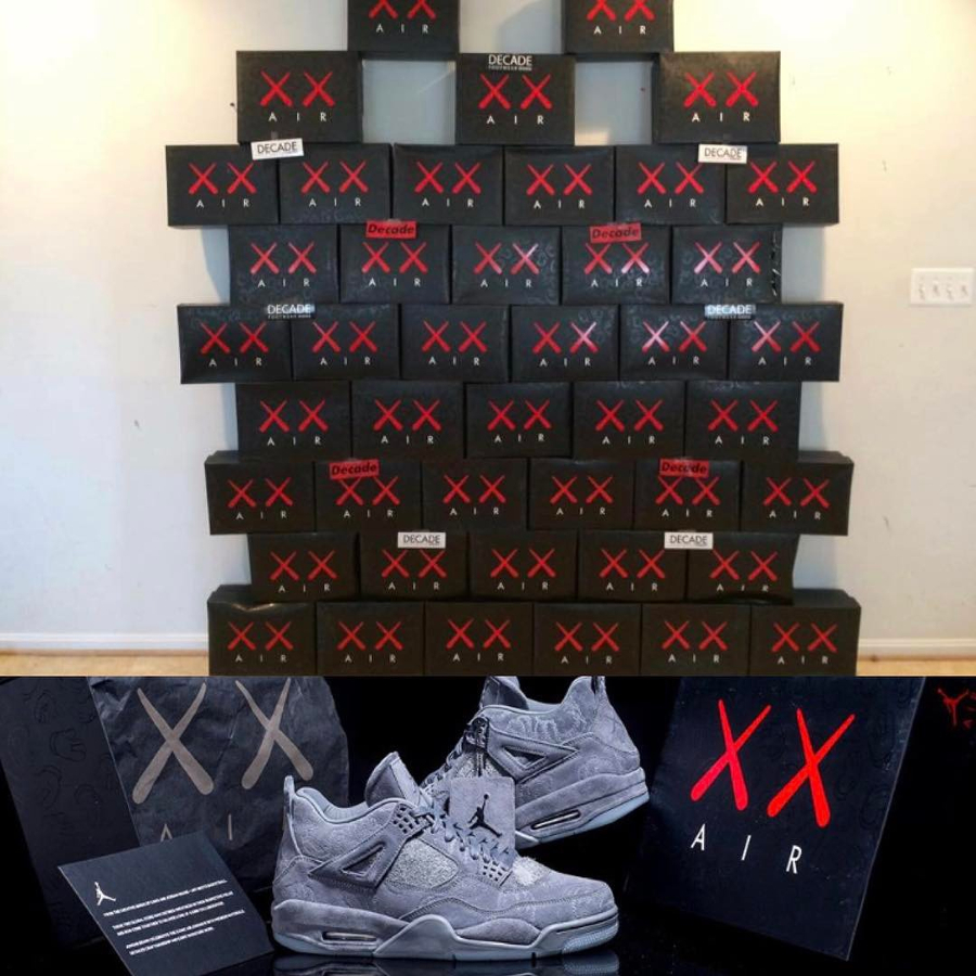 8-resell Air Jordan 4 retro Kaws