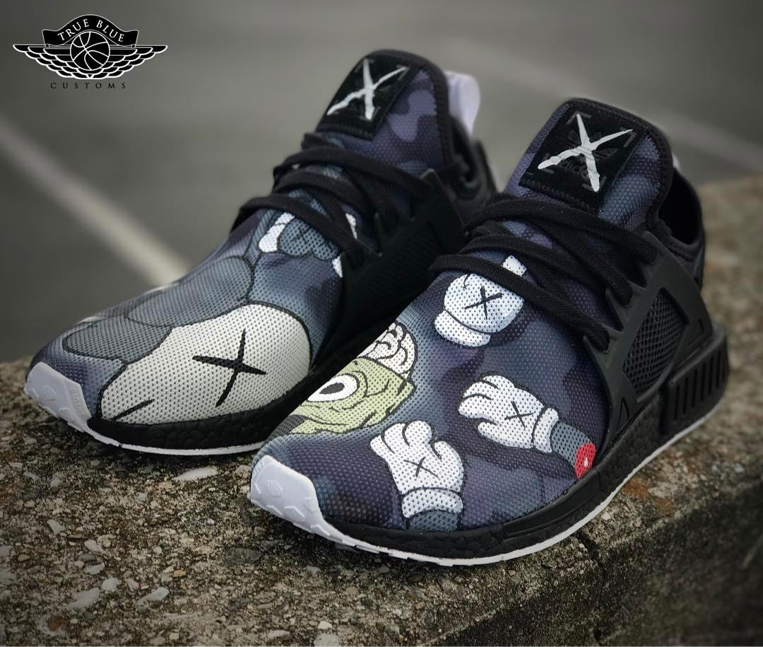 Adidas NMD XR1 Kaws - @truebluecustoms