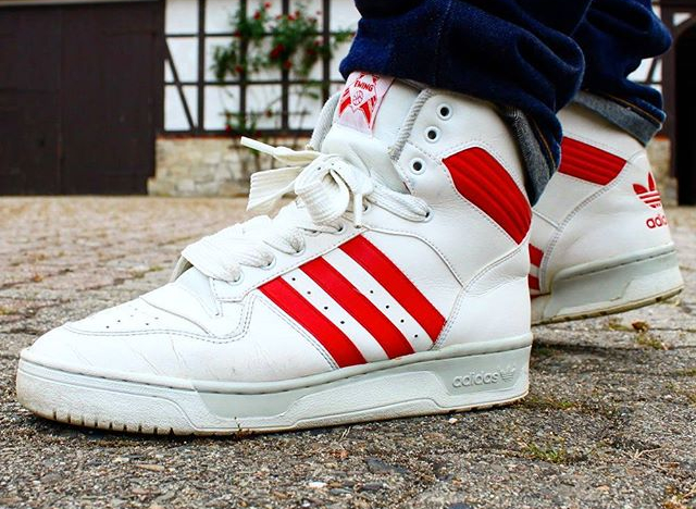 Adidas Rivalry Hi OG (made in Taiwan - @erniepunk