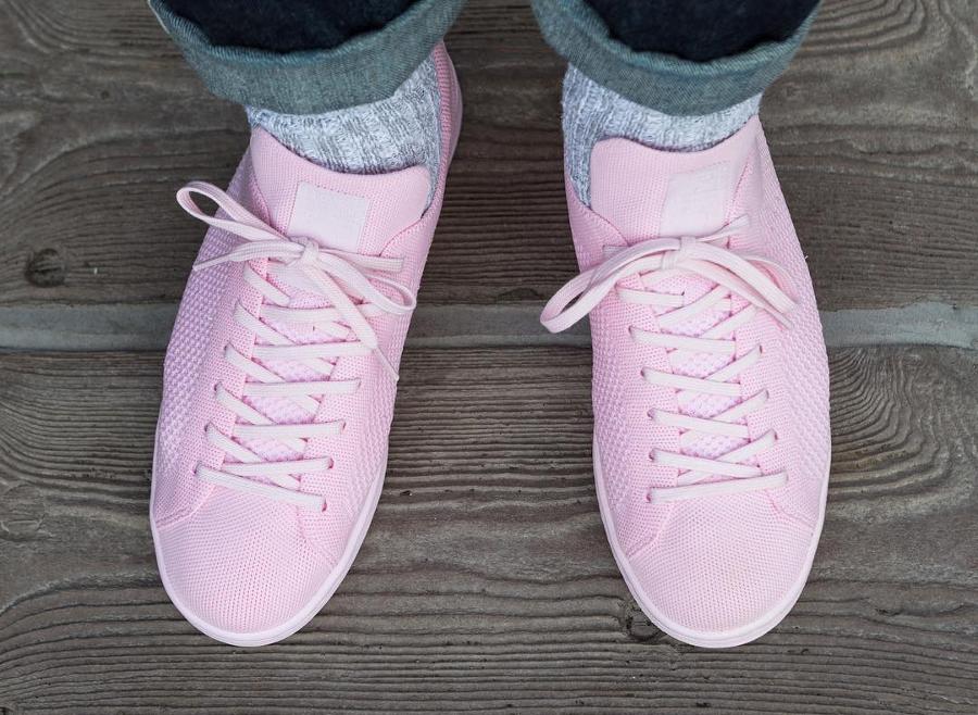 Adidas Stan Smith Primeknit Pink - @30sixth