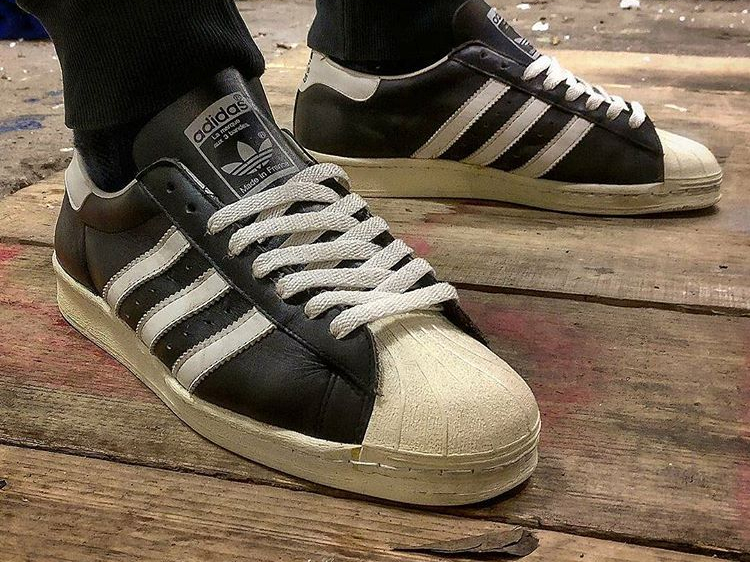 Adidas Superstar vintage Made in France - @dave.lurky