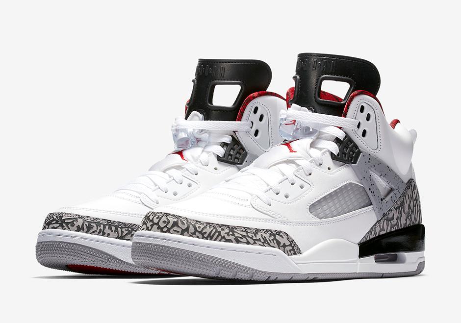 Air Jordan Spizike White Cement