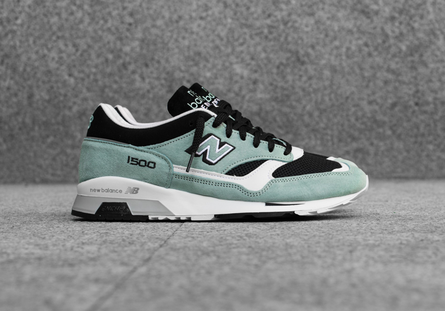 Basket New Balance M 1500 MGK Green Black (Made in England) (1)