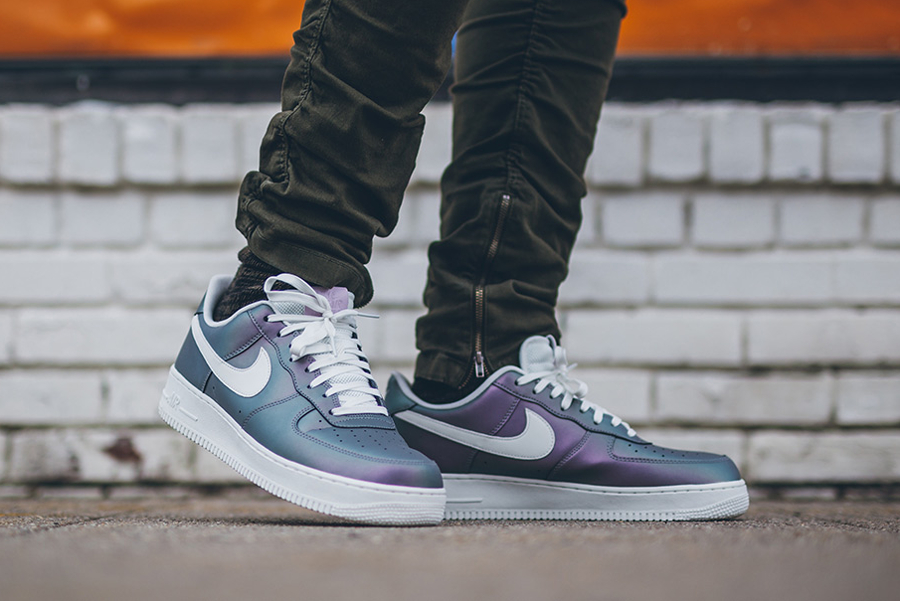 Nike Air Force 1 Low '07 LV8 Iridescent 'Iced Lilac' : où l