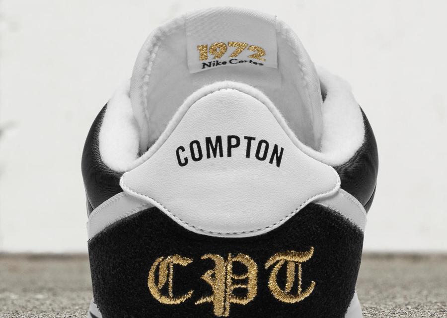 Basket Nike Cortez Basic Nylon Compton (45ème anniversaire) (3)