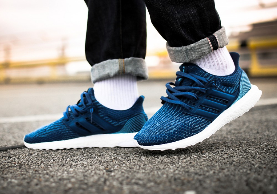 Basket Parley x Adidas Ultra Boost Primeknit Blue Night (2)