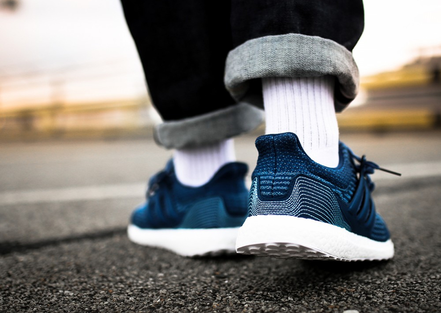 Basket Parley x Adidas Ultra Boost Primeknit Blue Night (3)