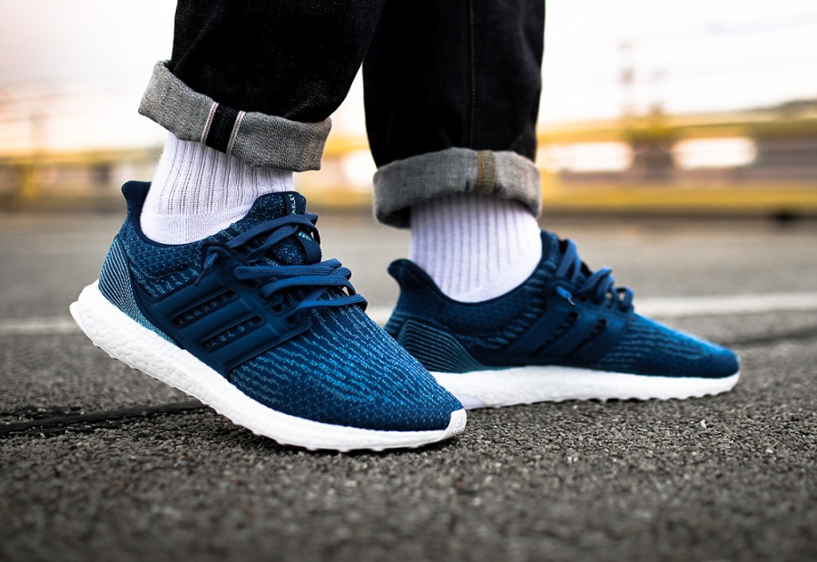 Basket Parley x Adidas Ultra Boost Primeknit Blue Night (4)