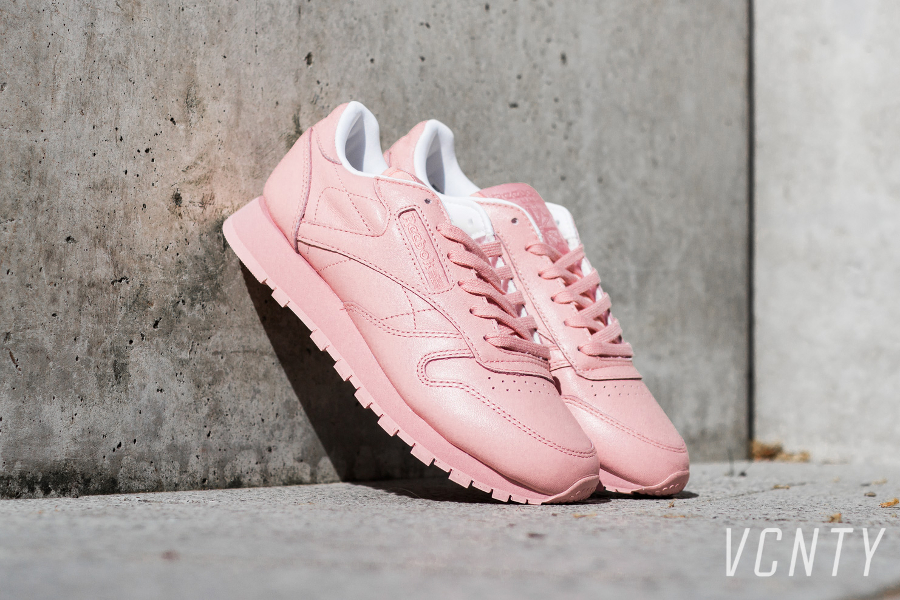 Basket Reebok Classic Leather W Patina Pink (1)