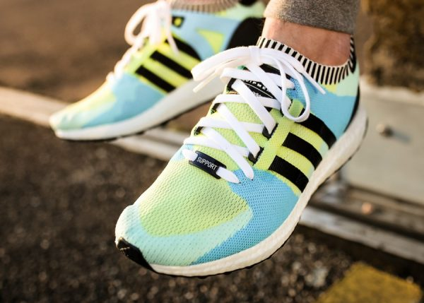Chaussure Adidas Equipment Support Primeknit Ultra Frozen Green (4)