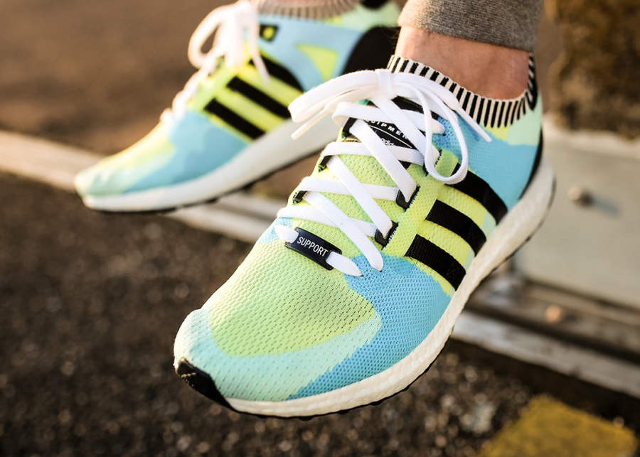 Adidas Equipment Support Primeknit 'Frozen Green'