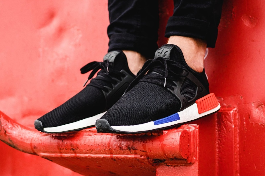 Adidas NMD XR1 Primeknit 'OG' Black Red Blue