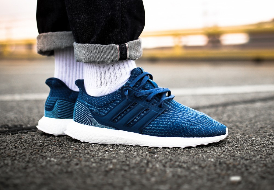 Parley x Adidas Ultra Boost 'Blue Night'