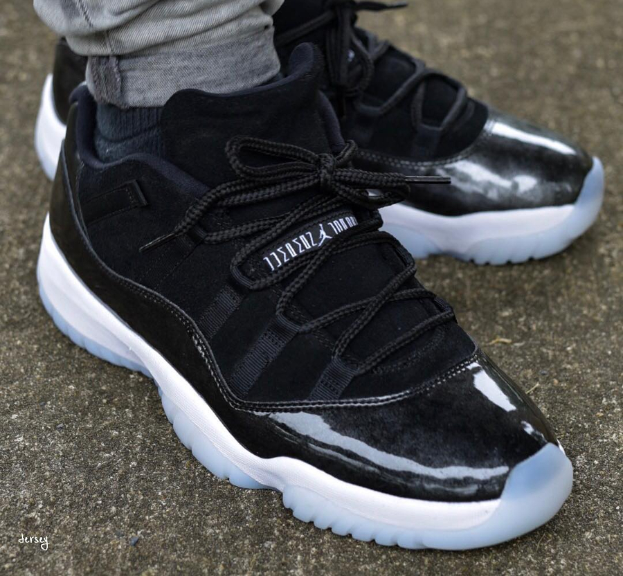 air jordan 11 xi retro low noir 39 barons 39 o l 39 acheter. Black Bedroom Furniture Sets. Home Design Ideas