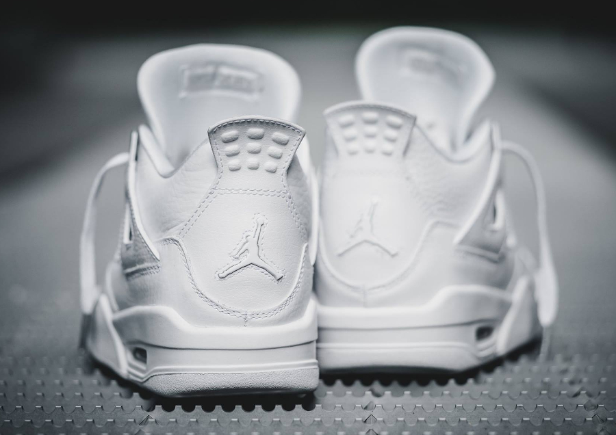 Chaussure Air Jordan IV 4 Retro Blanche Pure Money 2017 homme (3)