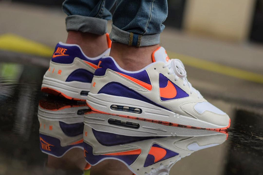 Chaussure Air Max 1 x Nike Air Icarus Extra Radiant Orange (3)