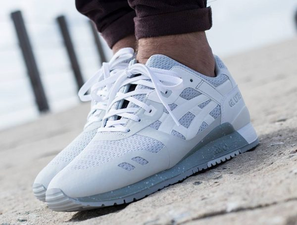 Chaussure Asics Gel Lyte 3 III NS Grise Glacier Grey (1)