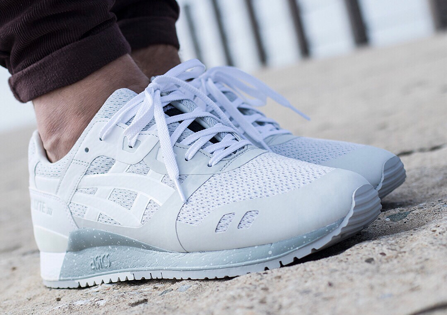 Chaussure Asics Gel Lyte 3 III NS Grise Glacier Grey (2)