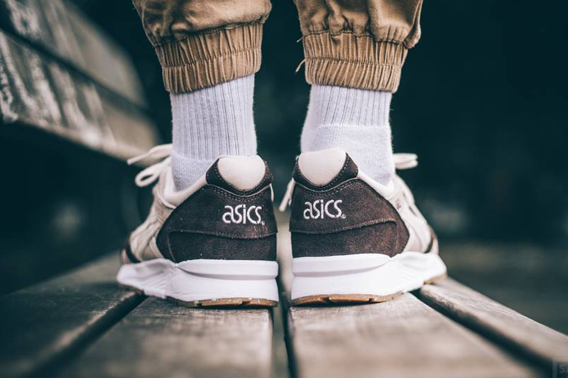 Chaussure Asics Gel Lyte V 5 Easter Birch Coffee (homme) (2)