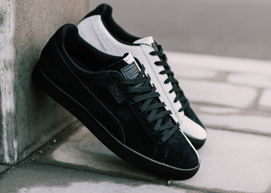 5f72c9ac272f Chaussure Jeff Staple x Puma Clyde NTRVL Black White (1)