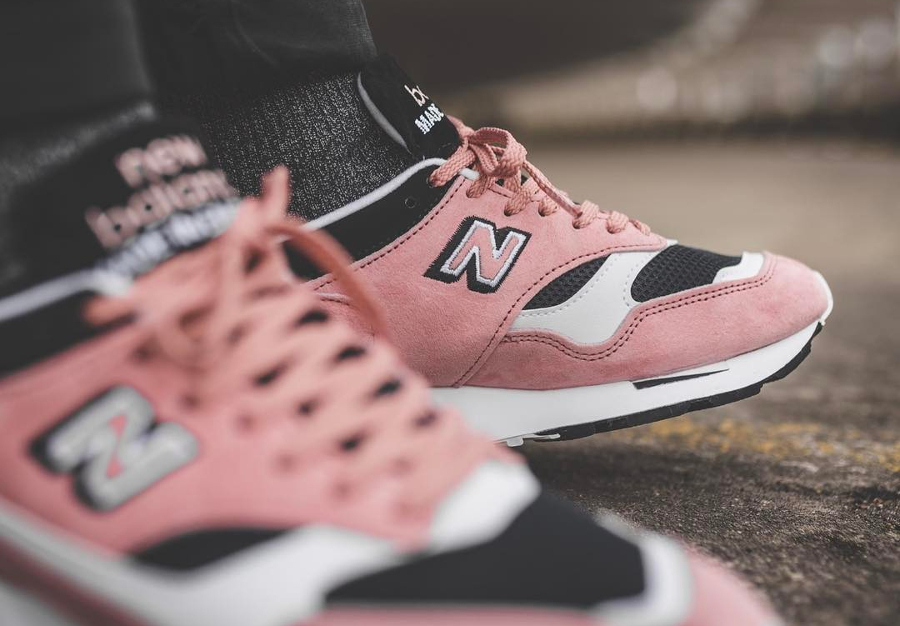 Chaussure New Balance M1500MPK Rose (Made in England) (2)