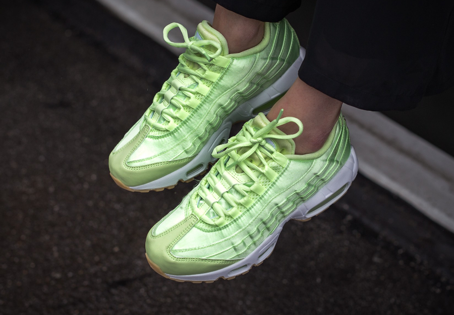 coupon codes cheap price new specials Nike Air Max 95 WQS 'Light Liquid Lime' (Satin Pastel)