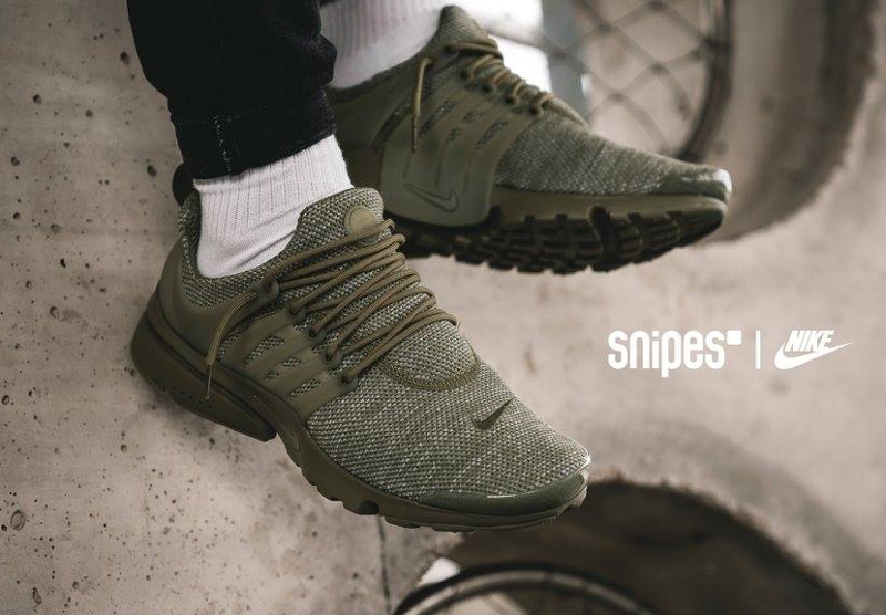 Chaussure Nike Air Presto Ultra BR Breathe Trooper (vert militaire)