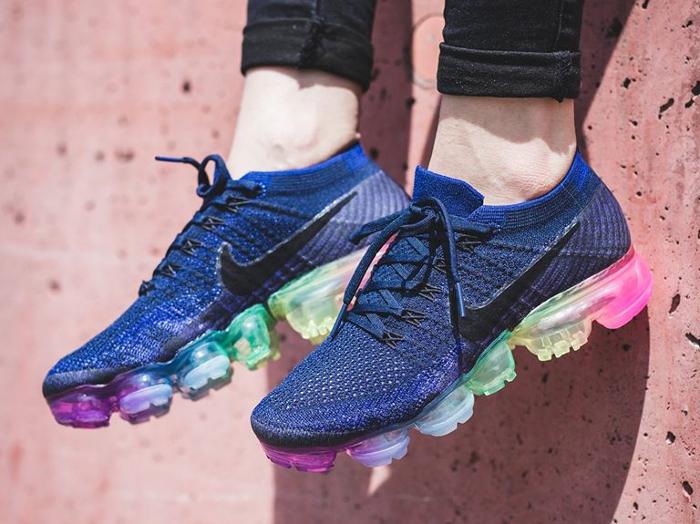 Chaussure Nike Air Vapormax Flyknit Be True Rainbow (arc-en-ciel) (1)